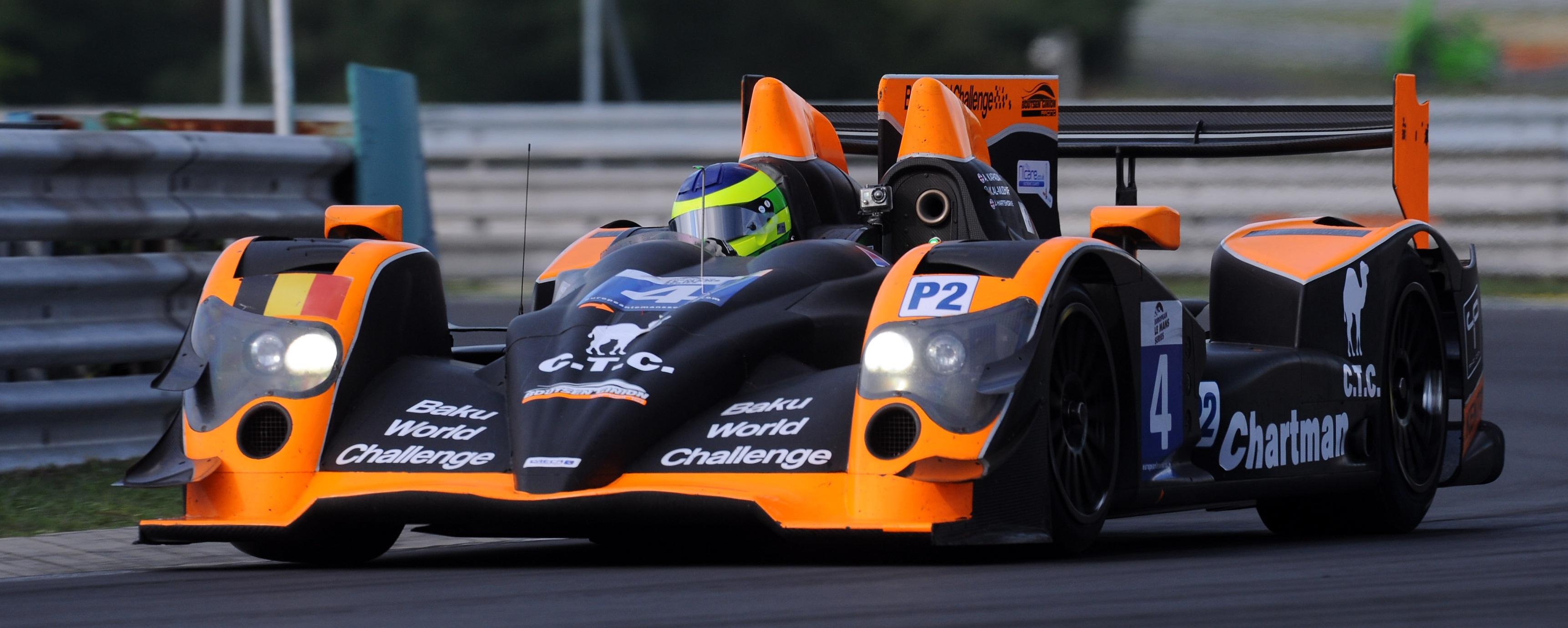 Alex Kapadia Boutsen LMP2 Hungaroring